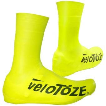 veloToze Tall Road 2.0 Shoe Covers Day Yellow Small