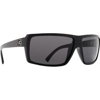 VonZipper Snark Sunglasses Black Gloss/Grey Lens