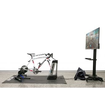 """Wahoo KICKR ULTIMATE Indoor Training Ecosystem (with 50"""" TV)"""