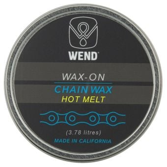 WEND Wax-On 3.78L Hot Melt Chain Wax Lube Bulk Can