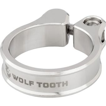Wolf Tooth 31.8 Seatpost Clamp Nickel