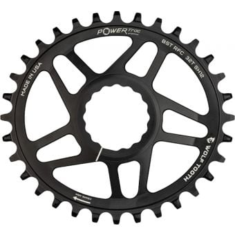Wolf Tooth RaceFaceCinch DirectMount Boost Shimano 12sp Chainring Black