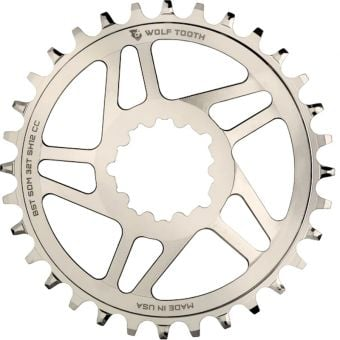 Wolf Tooth SRAM DirectMount Boost Nickel Plated Chainring 32T