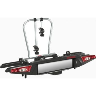 Yakima FoldClick2 Two-Bike Towball Mounted Carrier Silver/Black
