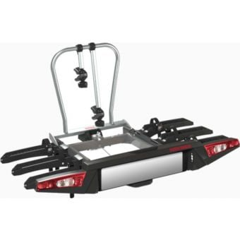 Yakima FoldClick3 Three-Bike Towball Mounted Carrier Silver/Black