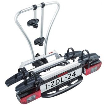 Yakima JustClick2 Two-Bike Towball Mounted Carrier Silver/Black