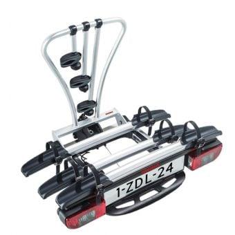 Yakima JustClick3 Tow Ball Mounted Bike Carrier Silver/Black