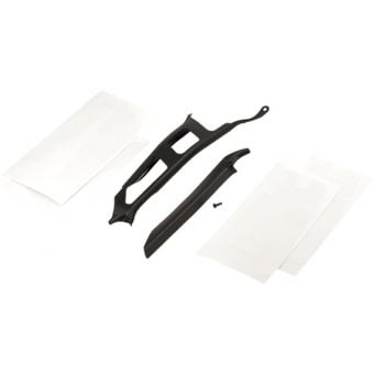 YT IZZO MK1 Frame Protection Set Black/Clear