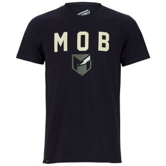 YT Mob Font SS T-Shirt Anthracite