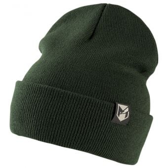 YT Mob Knitted Beanie Olive Green