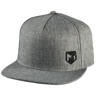 YT Mob Logo Snapback Cap Light Grey Heather