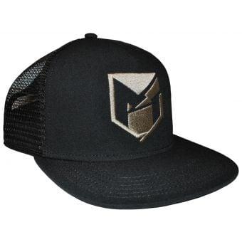 YT Mob Logo Trucker Snapback Cap Black