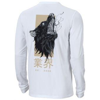 YT Okami LS T-Shirt White