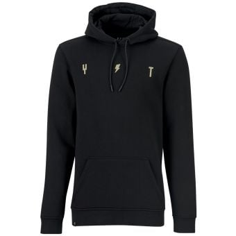 YT Simple Hoodie Black