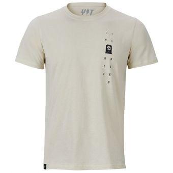 YT Tomb SS T-Shirt Bone White