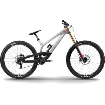 YT TUES 29 Carbon Pro Race DH MTB Titan Silver 2021 Long