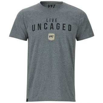 YT Uncaged SS T-Shirt Medium Grey Heather