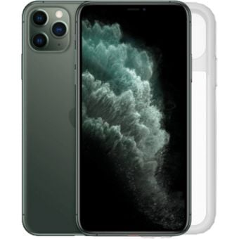 Zefal iPhone 11 Pro Case and Rain Cover Black/Clear