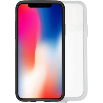 Zefal iPhone X/XS Case and Rain Cover Black/Clear