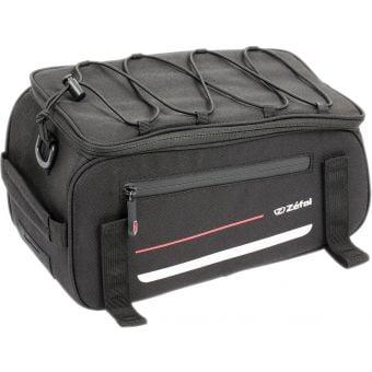 Zefal Z Traveller 40 Rear Rack Bag 9L Black/Red
