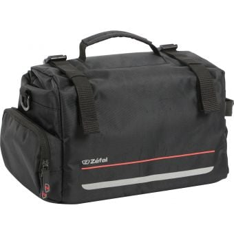 Zefal Z Traveller 60 Rear Rack Bag 20L Black/Red