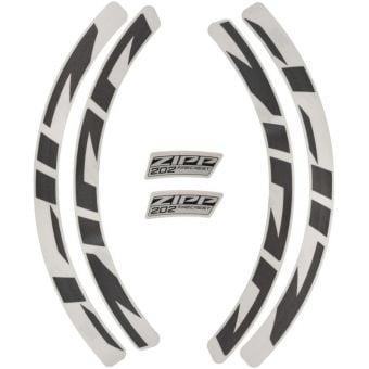 Zipp 202 Disc Brake Wheel MY21 Decal Kit Grey