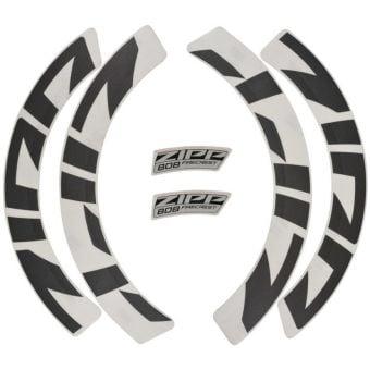 Zipp 808 Disc Brake/Rim Brake Wheel MY21 Decal Kit Grey
