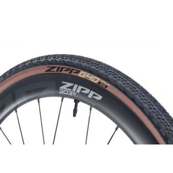 Zipp G40 XPLR 700x40c Folding Gravel Tyre Black/Tan