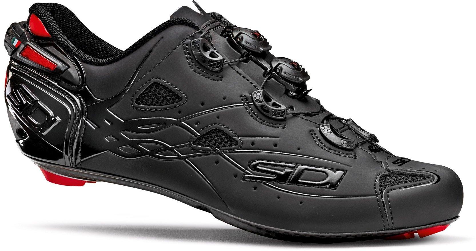 Sidi Shot Road Bike Shoes Total Black