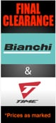 Final Clearance Bianchi and Time