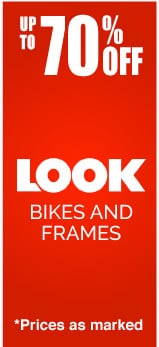 Up to 70% Off LOOK Bikes and Frames