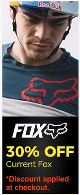 30% Off Current Fox