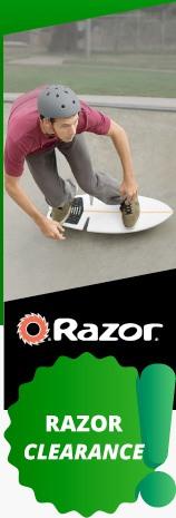 Razor Clearance