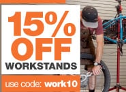 15% off workstands