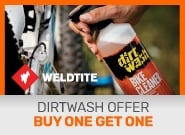 Dirtwash buy one get one free