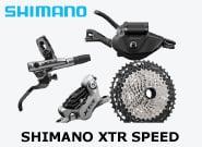 New Shimano XTR speed