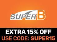 Extra 15% Off Super B