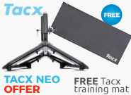 Buy a Tacx Neo Trainer - receive a free training mat