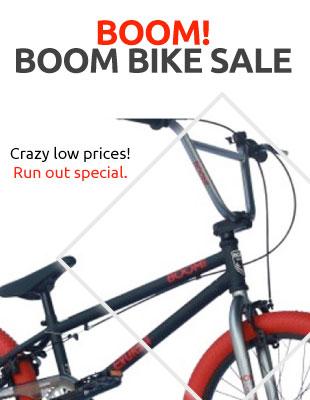 Boom bike sale!