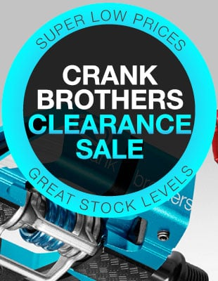 Crank Brothers clearance sale!