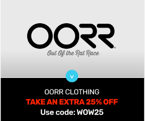 Extra 25% OFF OORR Clothing