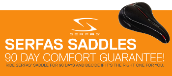 Serfas 90 day comfort guarantee