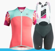 Giordana Lungo Womens Kit Pink/Mint/Purple/Black 2018