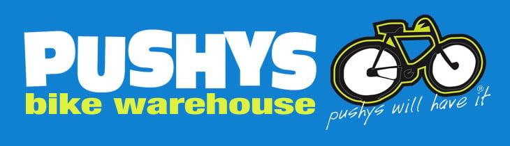 Pushys Bike Warehouse Logo