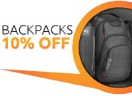 10% OFF Backpacks
