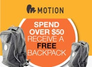 Motion backpack deal